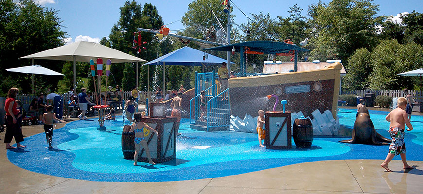 Splash Park at Louisville Zoo